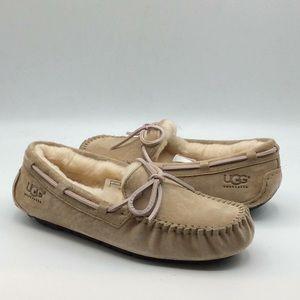 UGG Dakota Tab Suede Moccasin House Slippers